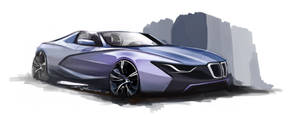 BMW Sketch by Wesker250