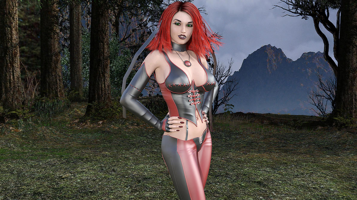 Bloodrayne by BaronTheDoomlord