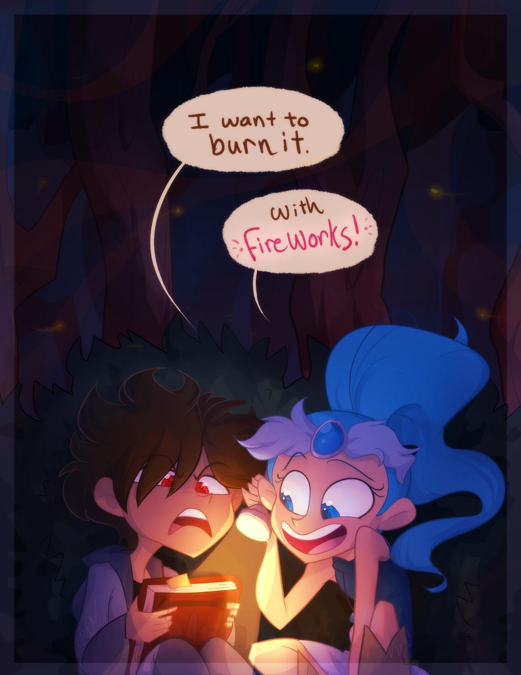 Burn It by Shainbow