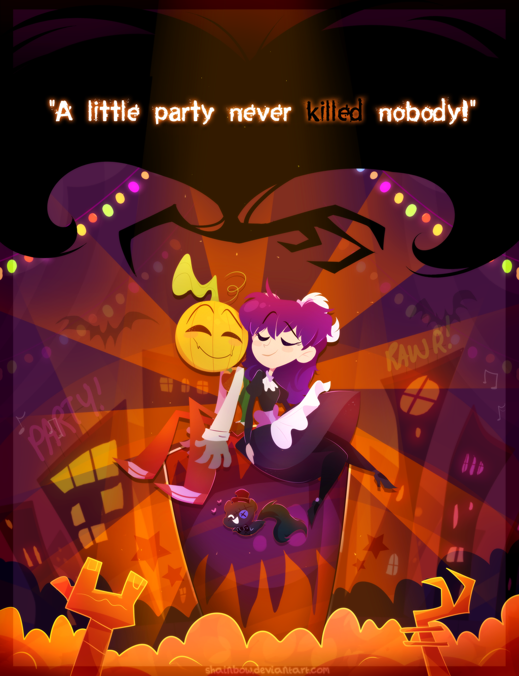 A Little Party Never Killed Nobody by Shainbow