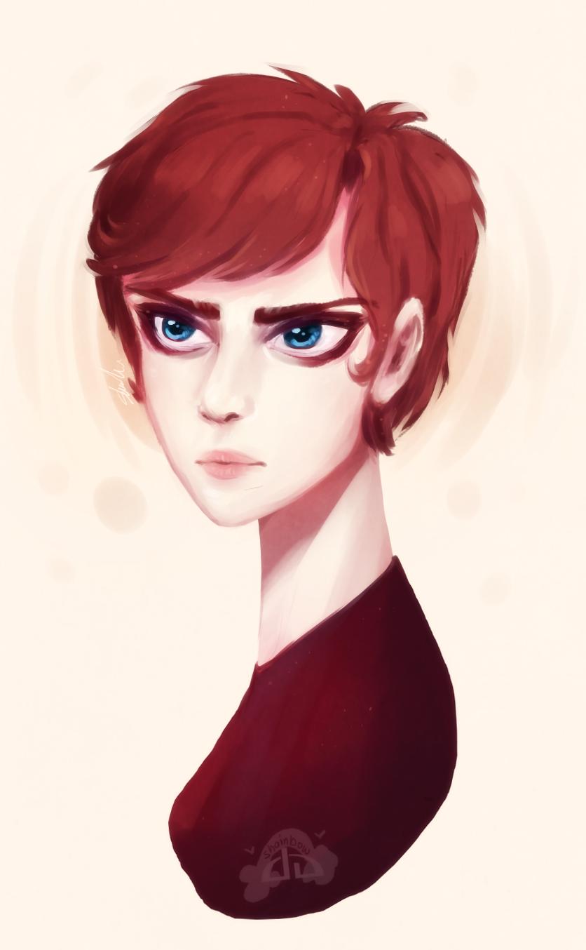 Blue Eyes by Shainbow