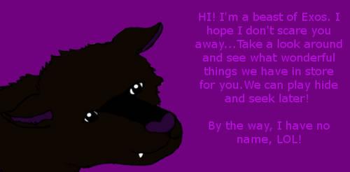 Beast of Exos says hello! by Kamaji16