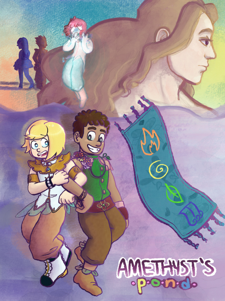 Amethyst's Pond - Oct '16 Comic Cover