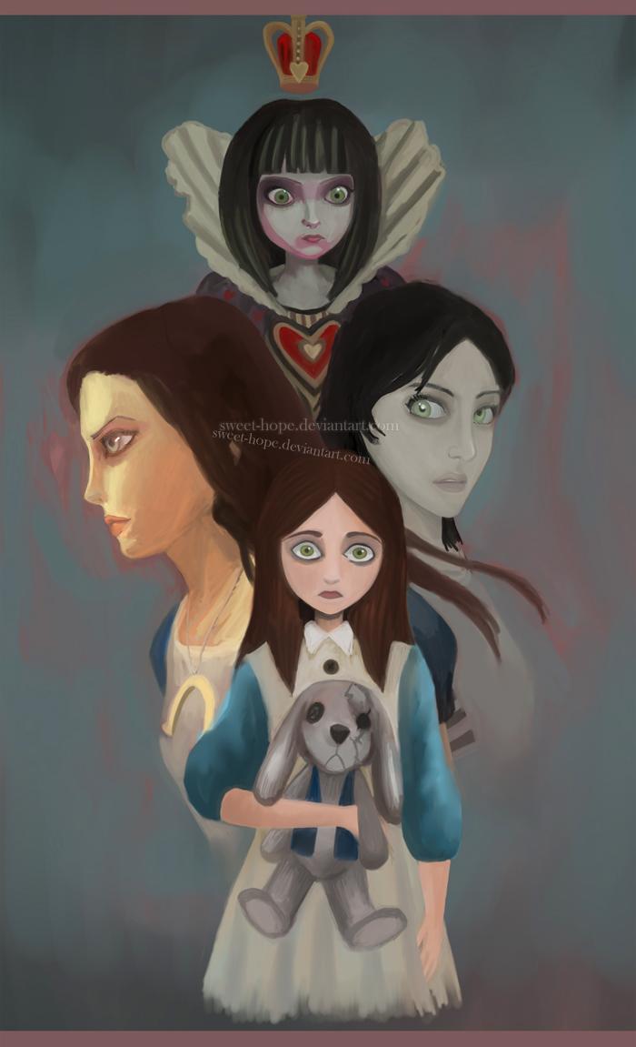 AMR : Alice Liddell by Sweet-Hope