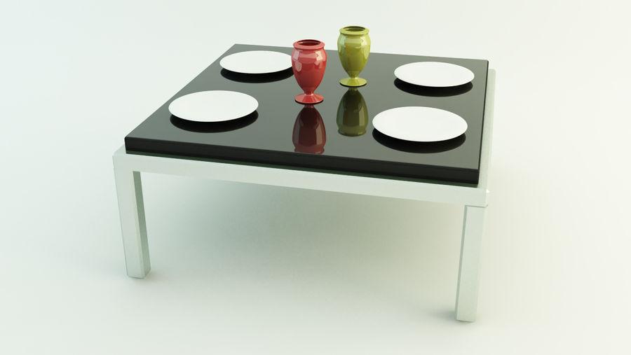 Simple, modern table
