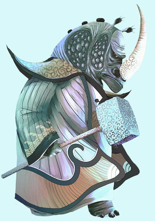 Master Thundering Rhino by Wonderlame