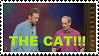 THE CAT Stamp by wizardwonders6