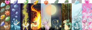 Bookmarks: Eeveelutions All
