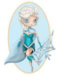 Frozen's Elsa Ashe Skin Concept