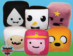 Adventure Time Plush Cubes