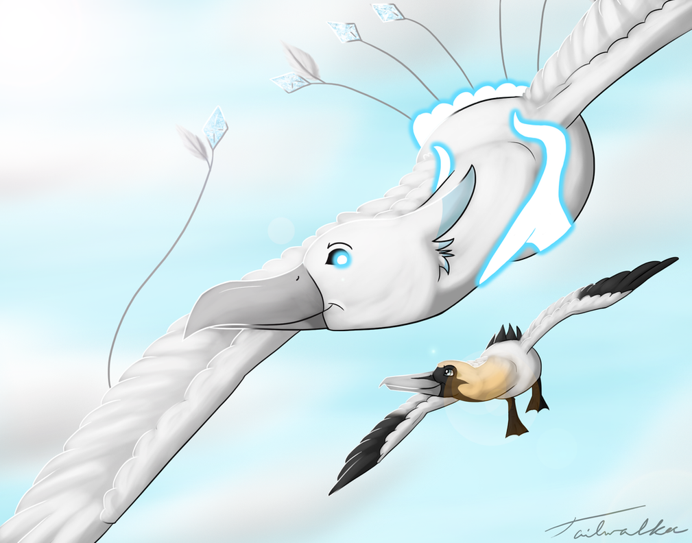 Spirit and Tiron by Tailwalker