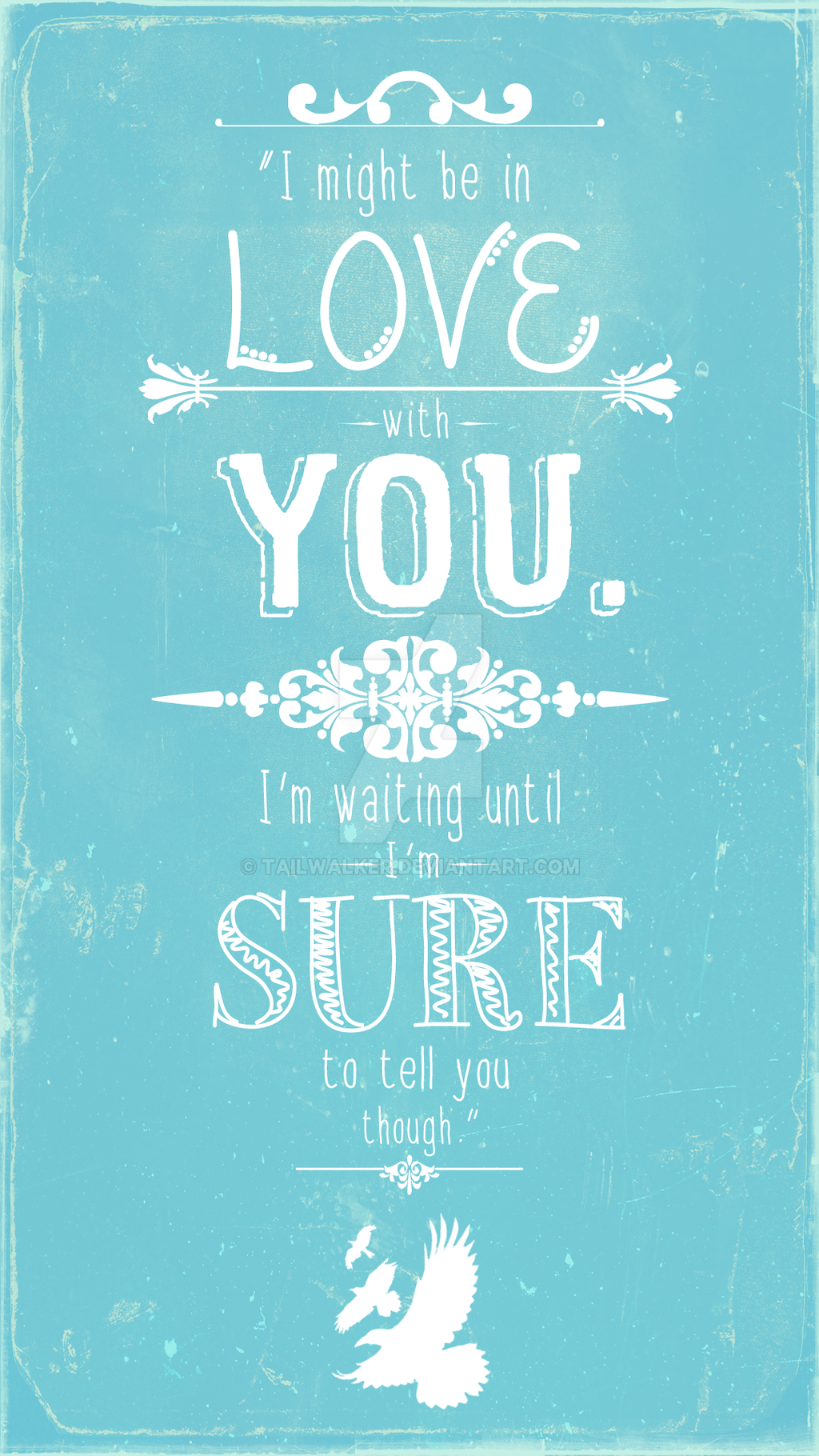 divergent i might be in love with you phone wp by tailwalker on