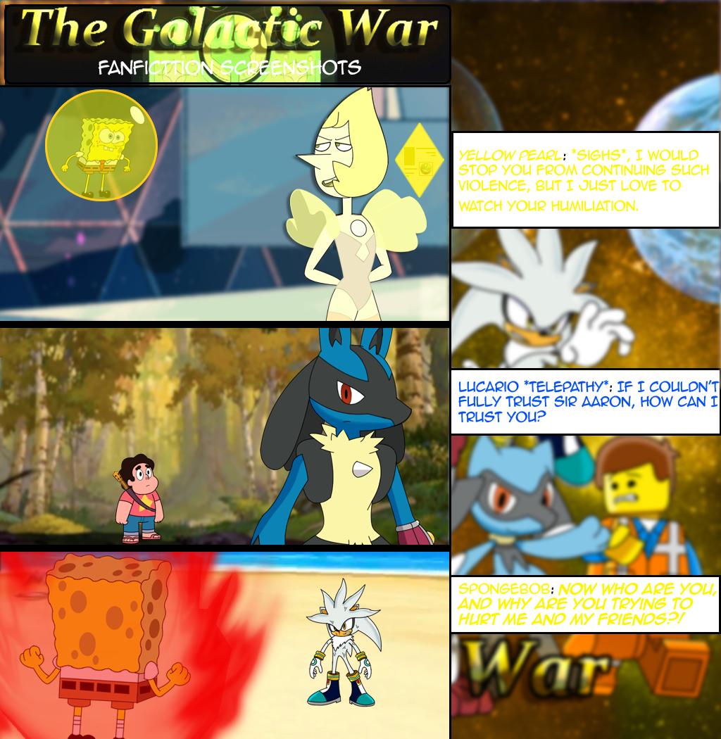 The Galactic War Fanfic Screenshots by MarkHoofman