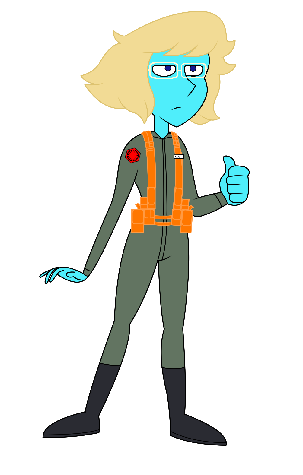 'Matt' the Radar Technician by MarkHoofman