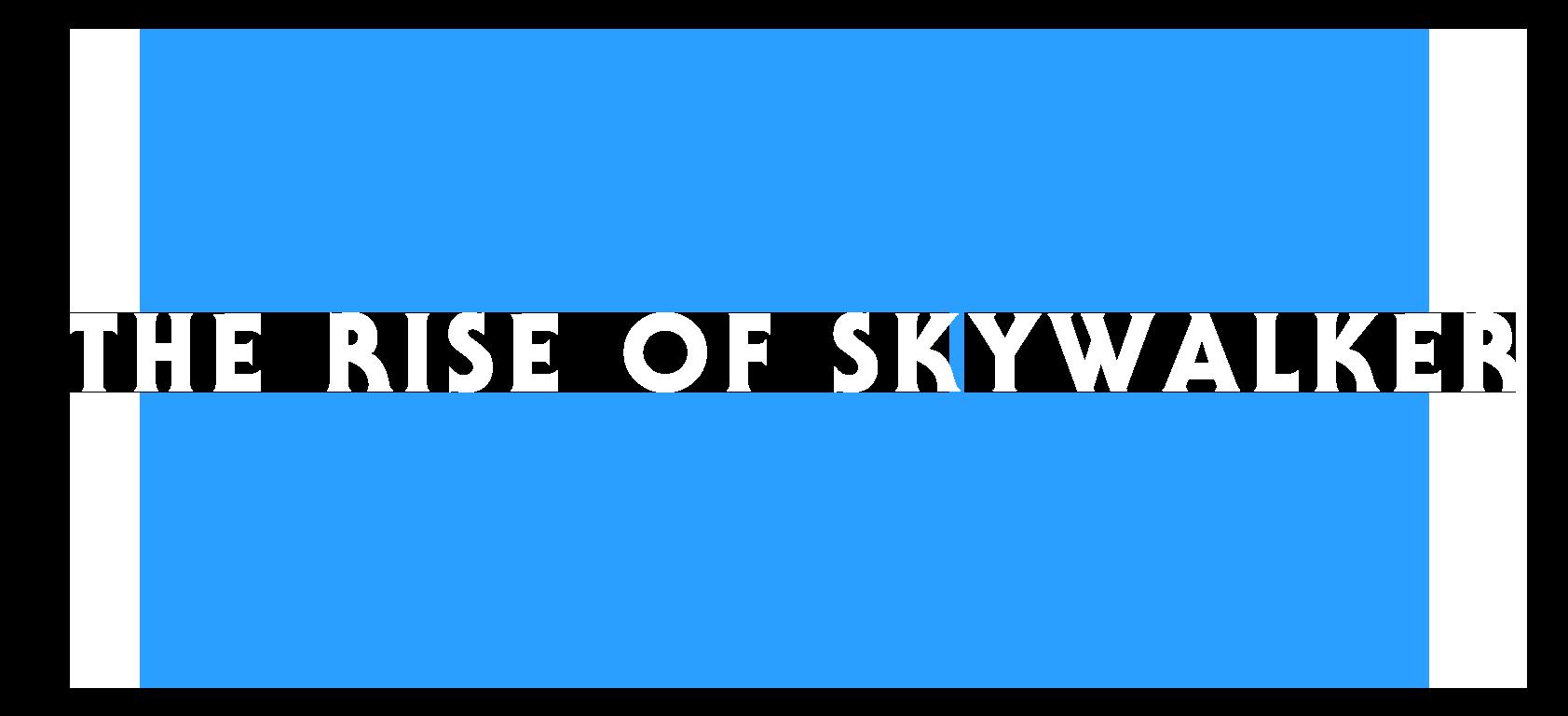 Star Wars The Rise Of Skywalker Transparent Logo By Markhoofman On Deviantart
