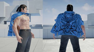Hwoarang Jacket for Dragunov
