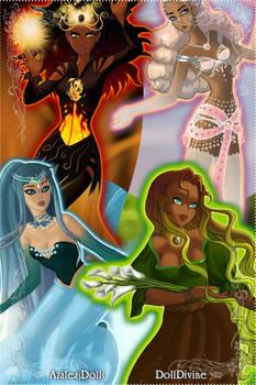 Four Israelite Elements Women