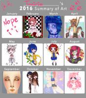 2016 Art Summary by Taviria