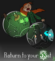 (Infinity Train) Return to your 53at by CloudtheHen