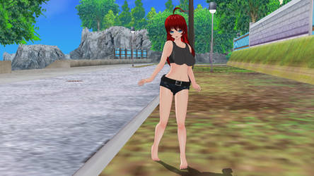 My Attempt to make Rias Gremony