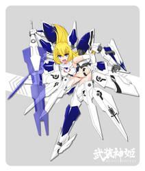 Busou Shinki mms type Valkyrie by tung9394