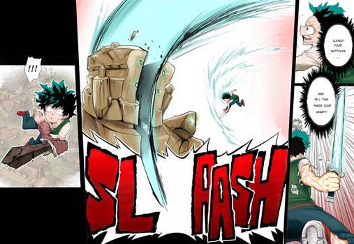 Medieval Deku's 'Slash'