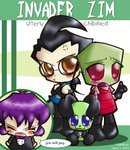 Invader Zim gang by kenpachikon