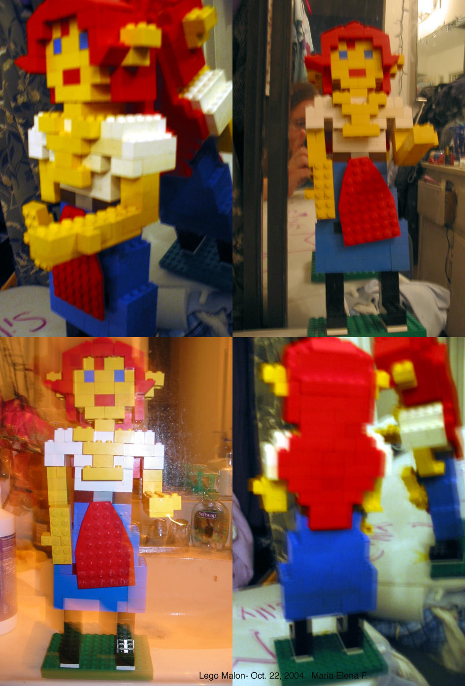 Lego Malon by HorseElena