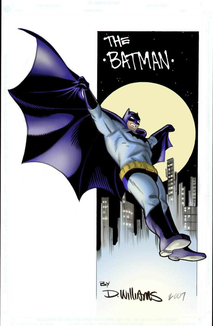 Brohawk Sprang Batman by BrattyBen