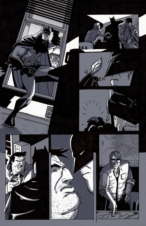 Batman Final Grey by BrattyBen