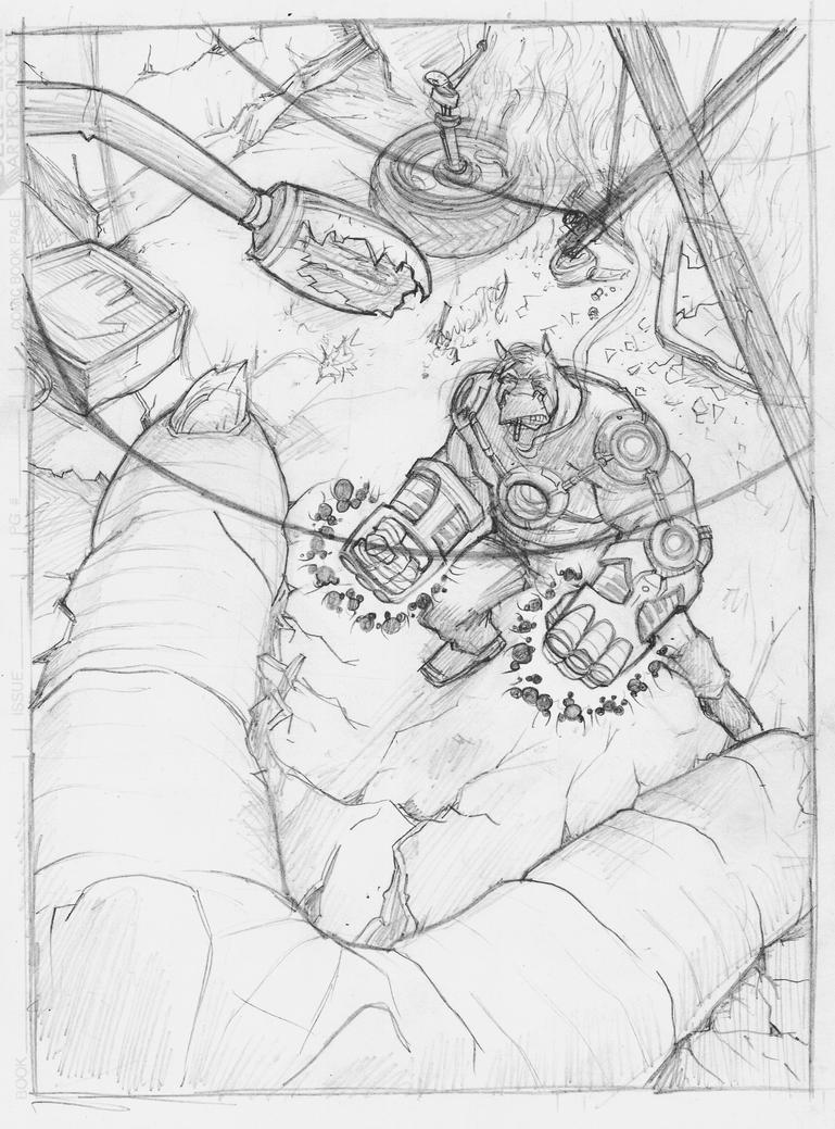 Heavy 1 Cover sketch by BrattyBen