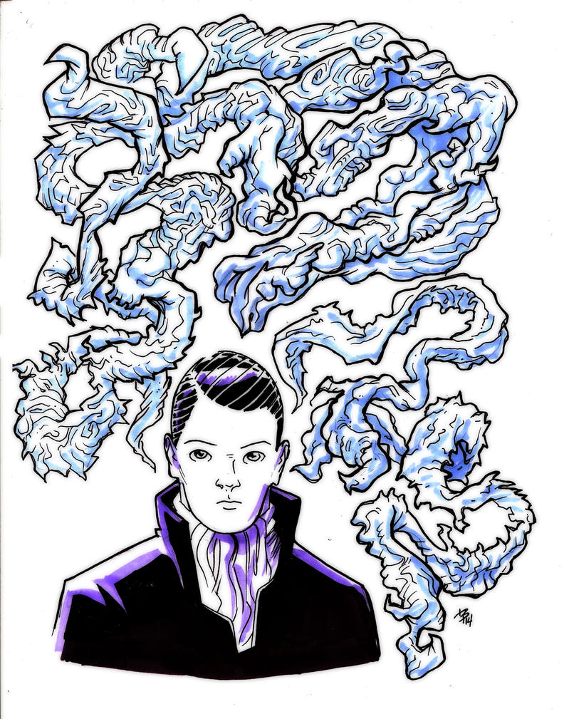 Young Lovecraft by BrattyBen