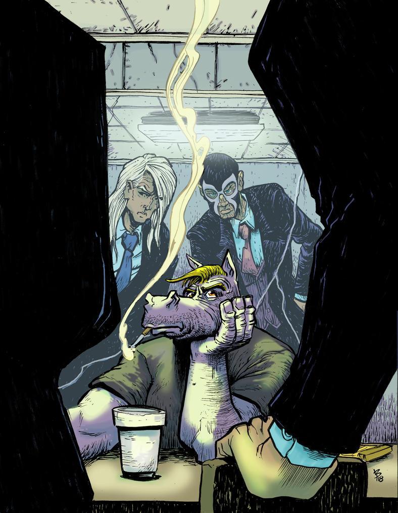 Interrogation by BrattyBen