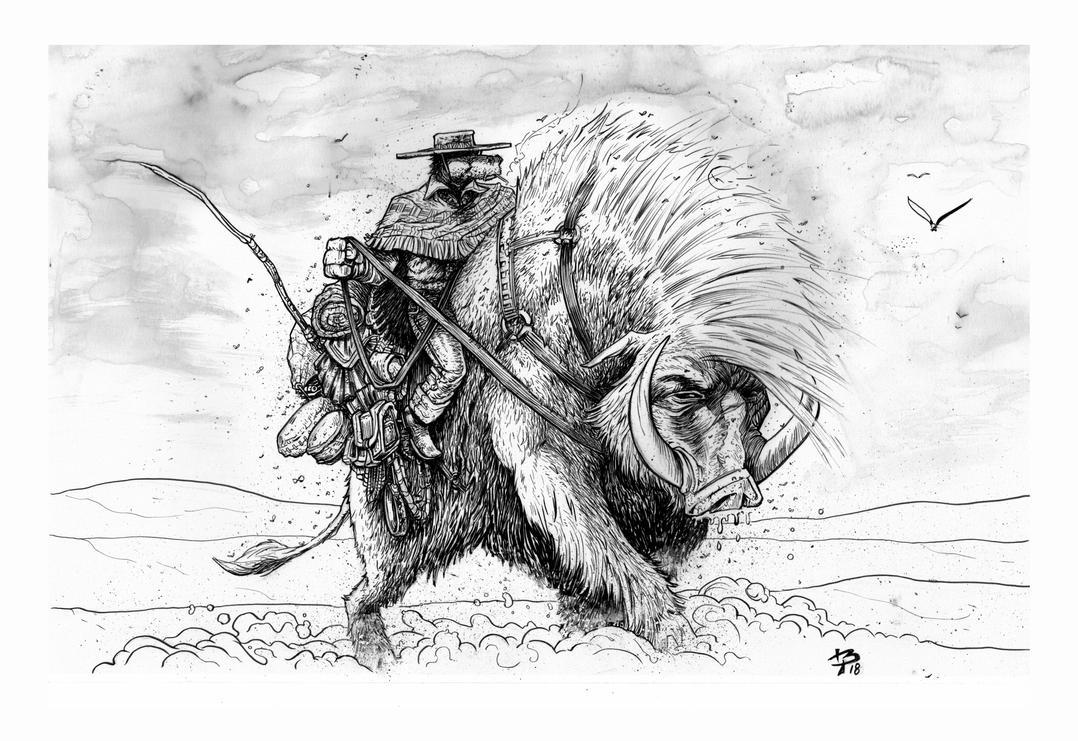 Heavy ride ink by BrattyBen