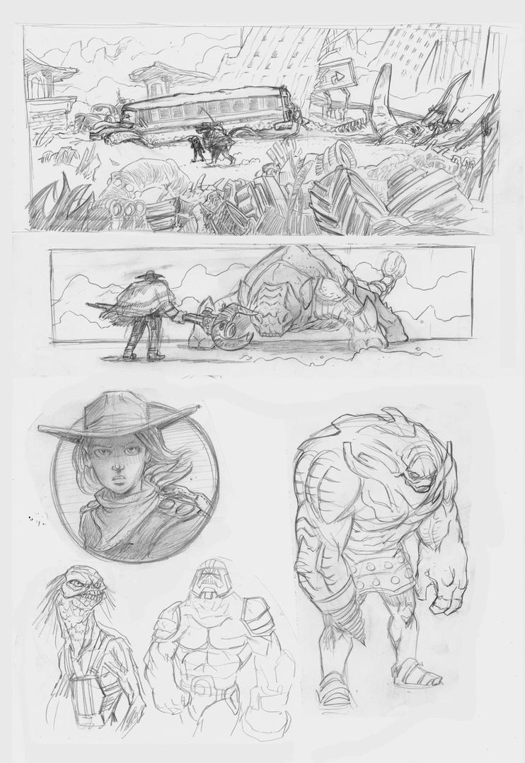 Heavy Sketch stuff by BrattyBen