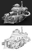 Steampunk Tank Semi-Final 2 by commanda