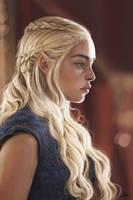 Game of Thrones- Daenerys Targaryen by FatPug