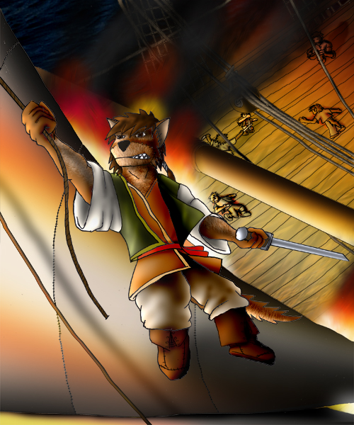 A pirate life for me by Saurus