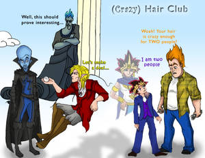 The 'Crazy' Hair Club