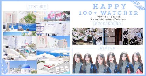 190715 // HAPPY 100+ WATCHER by priskkyu