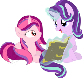 Reading Together by NatuSoulSilver