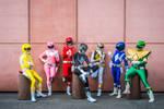 Power rangers Super sentai team mighty morphin