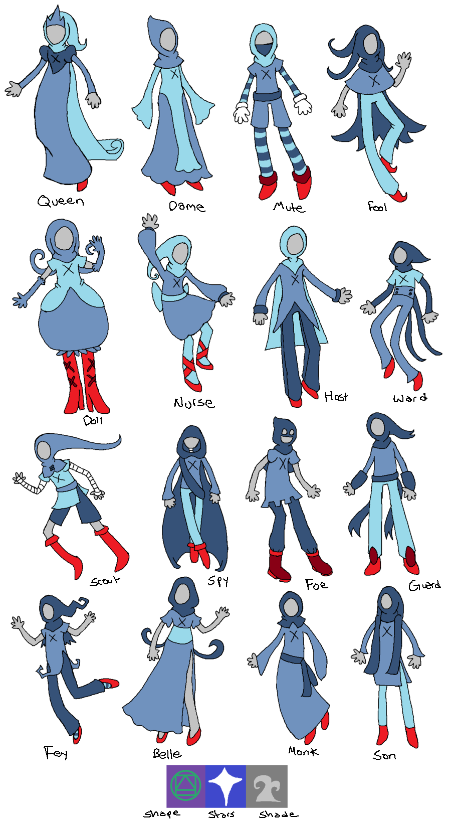 Additional God-Tier Aspects and Classes by Lucheek on ...Homestuck God Tier Base