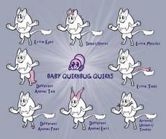 Baby Quirkbug Quirks! by Lucheek