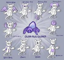 Quirkbug Quirks! by Lucheek