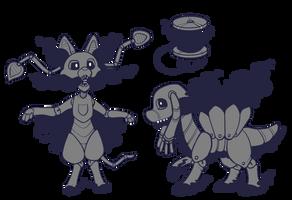 Shadow Puppet! New Morph! by Lucheek