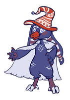 Cloaken 3- Ugly Sweater Witch Hat by Lucheek
