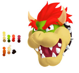 Bowser attempt by JunkmanPow