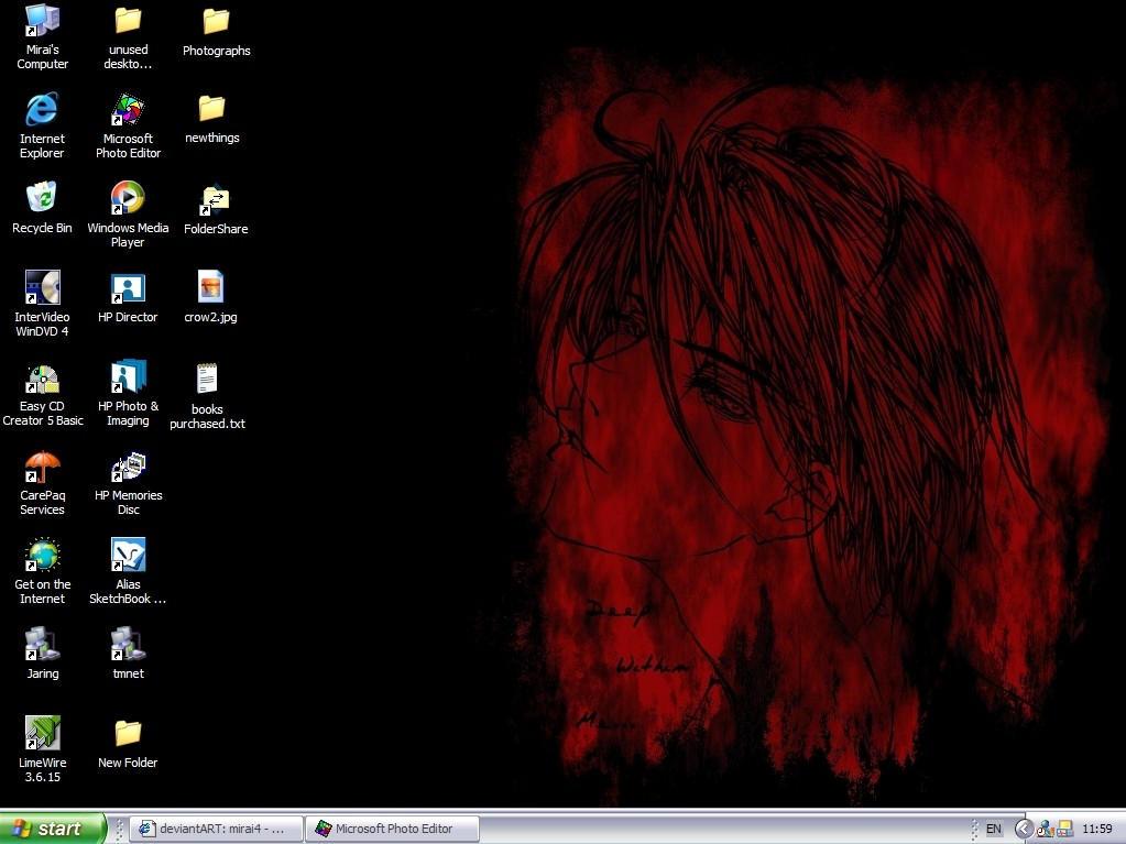 My Desktop by mirai4