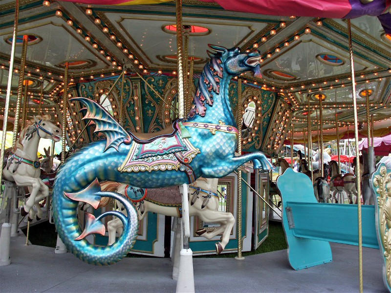 Merry-Go-Round Dragon Horse by VotM on DeviantArt